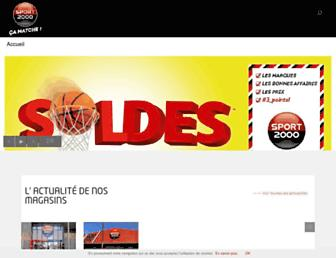 Thumbshot of Sport2000.fr