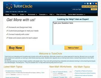 Thumbshot of Tutorcircle.com