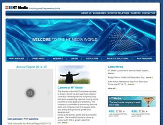 htmedia.in screenshot