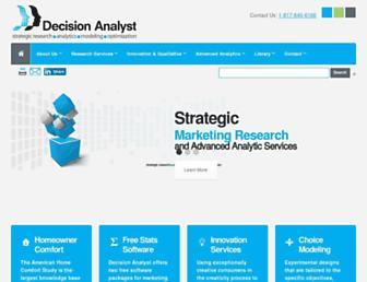 decisionanalyst.com screenshot