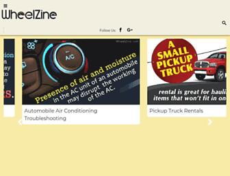 wheelzine.com screenshot