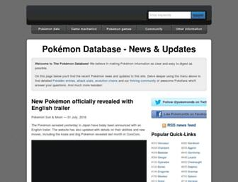 Thumbshot of Pokemondb.net