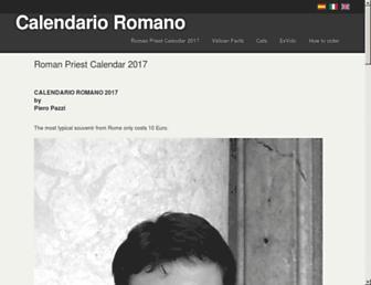 Thumbshot of Calendarioromano.org