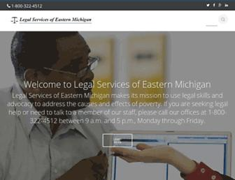 Main page screenshot of lsem-mi.org