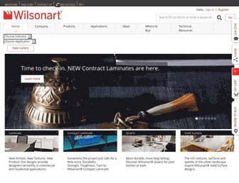 Thumbshot of Wilsonart.com