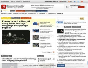 Main page screenshot of di.com.pl