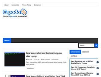 blogespada.net screenshot