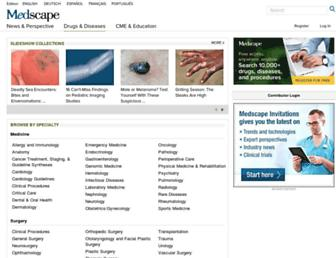 emedicine.medscape.com screenshot