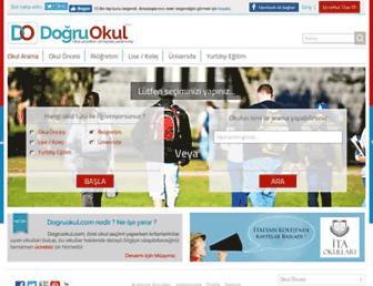 dogruokul.com screenshot