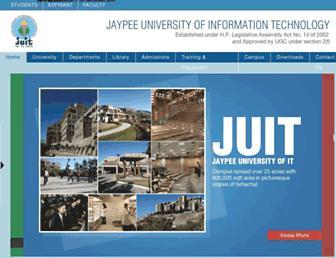 Thumbshot of Juit.ac.in