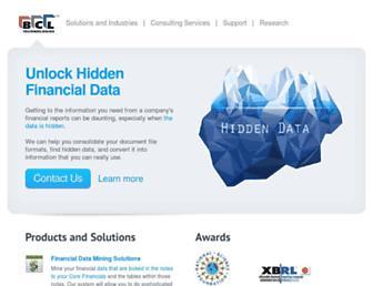 bcltechnologies.com screenshot