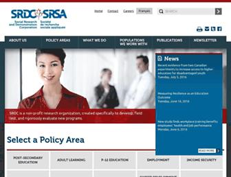 srdc.org screenshot