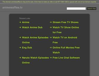 animewaffles.tv screenshot