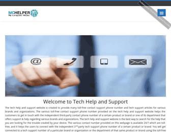 tech-help-support.com screenshot