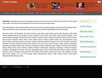 profilusaha.com screenshot