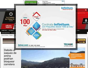 Main page screenshot of elvigia.net