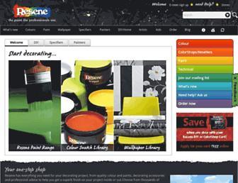 Thumbshot of Resene.com.au