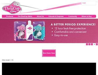 divacup.com screenshot
