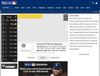 mlb.com screenshot