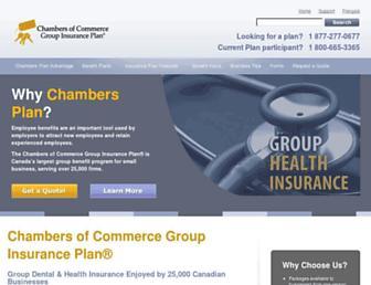 chamberplan.ca screenshot