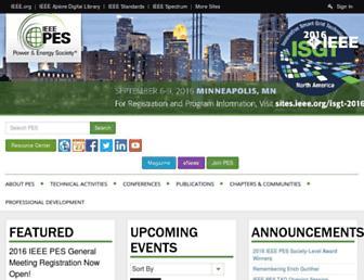ieee-pes.org screenshot