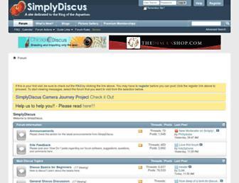 forum.simplydiscus.com screenshot