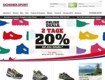 Thumbshot of Ochsner-sport.ch