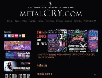 metalcry.com screenshot