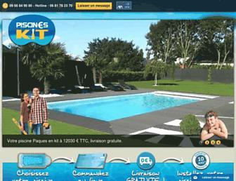piscines-kit.com screenshot