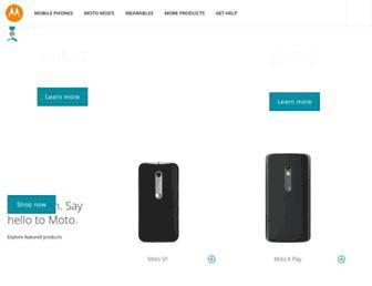 Thumbshot of Motorola.ca