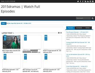 2015dramas.blogspot.com screenshot