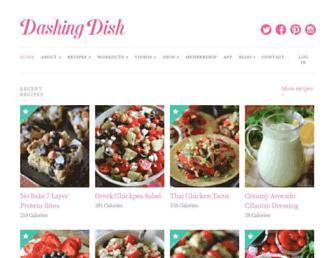 Thumbshot of Dashingdish.com