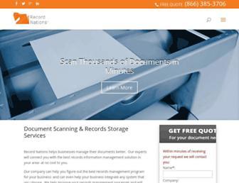 recordnations.com screenshot