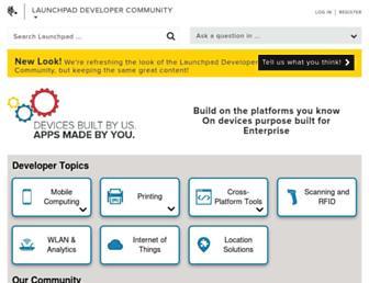developer.zebra.com screenshot
