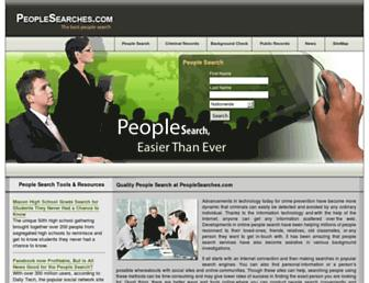 Thumbshot of Peoplesearches.com