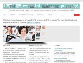 Thumbshot of Lawhandbook.org.au