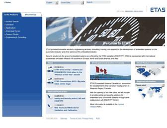 etas.com screenshot