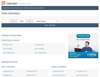 calendarr.com screenshot