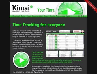 kimai.org screenshot