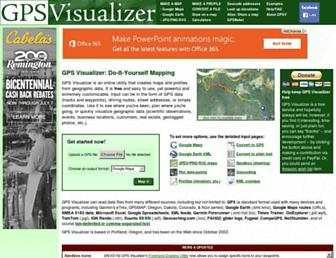 Thumbshot of Gpsvisualizer.com