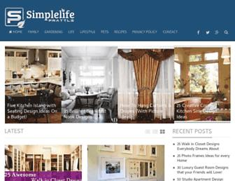 simplelifeprattle.com screenshot