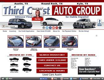 thirdcoastautos.com screenshot