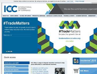 iccwbo.org screenshot
