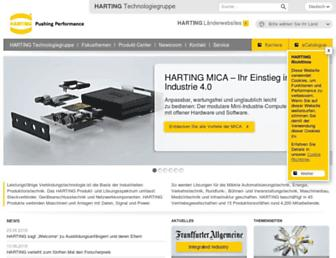 harting.com screenshot