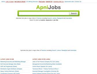 Thumbshot of Apnijobs.pk