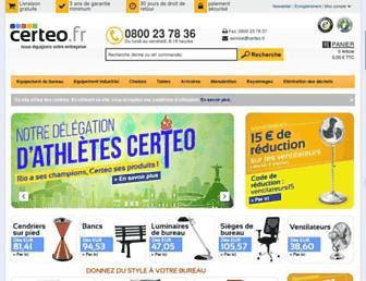 Thumbshot of Certeo.fr