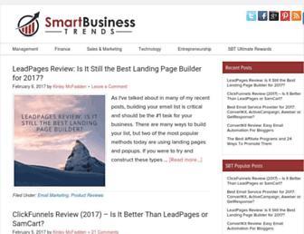 smartbusinesstrends.com screenshot