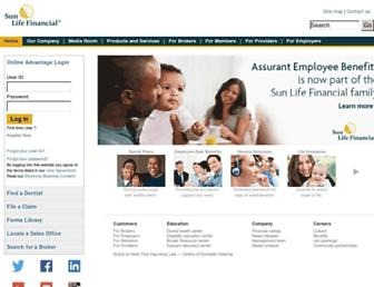 Thumbshot of Assurantemployeebenefits.com