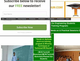 technicalsymposium.com screenshot