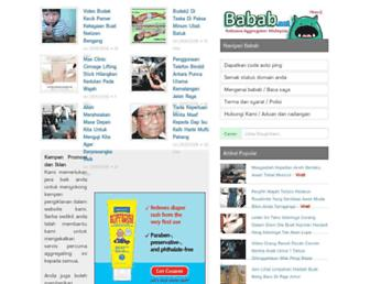 Main page screenshot of busuk.org
